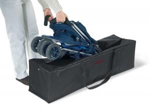 sac transport poussette canne